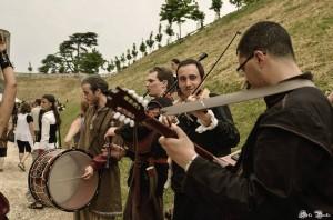 Aux Médiévales de Provins 2013 en animation libre - Photo par Séta Pics