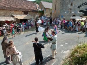 Fête Médiévale de Peyrilles (Juillet 2013)