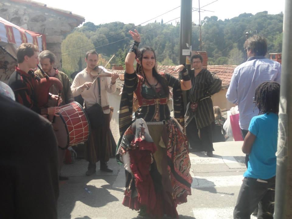 A la fête médiévale Biot et les Templiers 2014