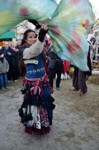 Au Marché de Noël médiéval de Provins 2013 - photo par Cheyenne