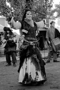 Danse au sabre, au Marché de Noël médiéval de Semur-en-Auxois 2013 - photo par D. Lavevre