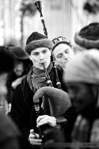 Veuze, au Marché de Noël médiéval de Semur-en-Auxois 2013 - photo par D. Lavevre