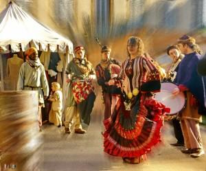 Au Marché de Noël médiéval de Semur-en-Auxois 2013 - photo par Miodrag Aubertin